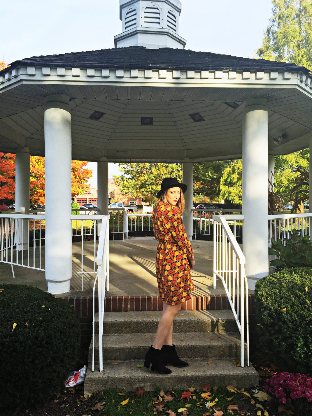 How To Wear A Shirt Dress In The Fall