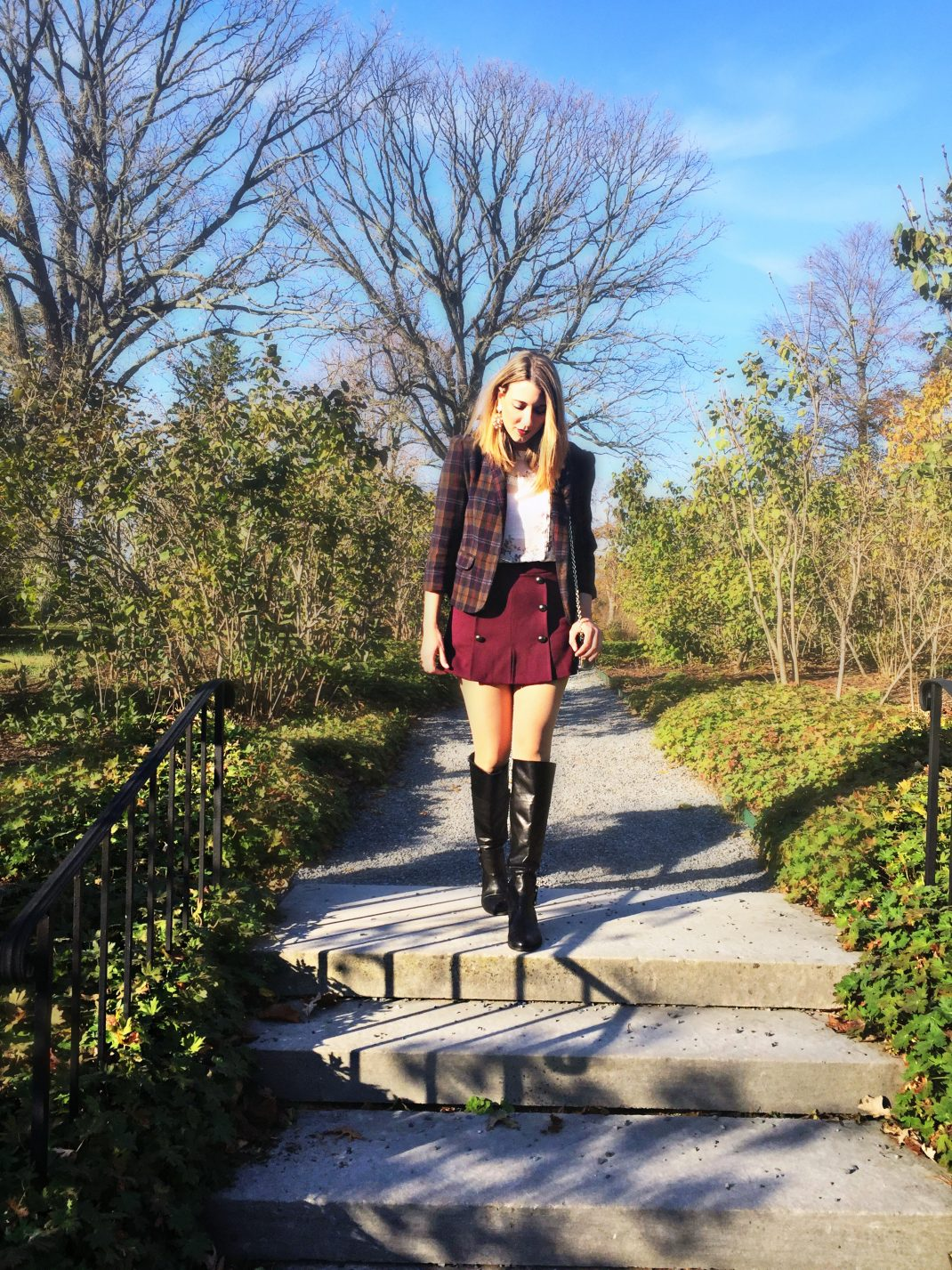 Cute Preppy Outfit For Fall