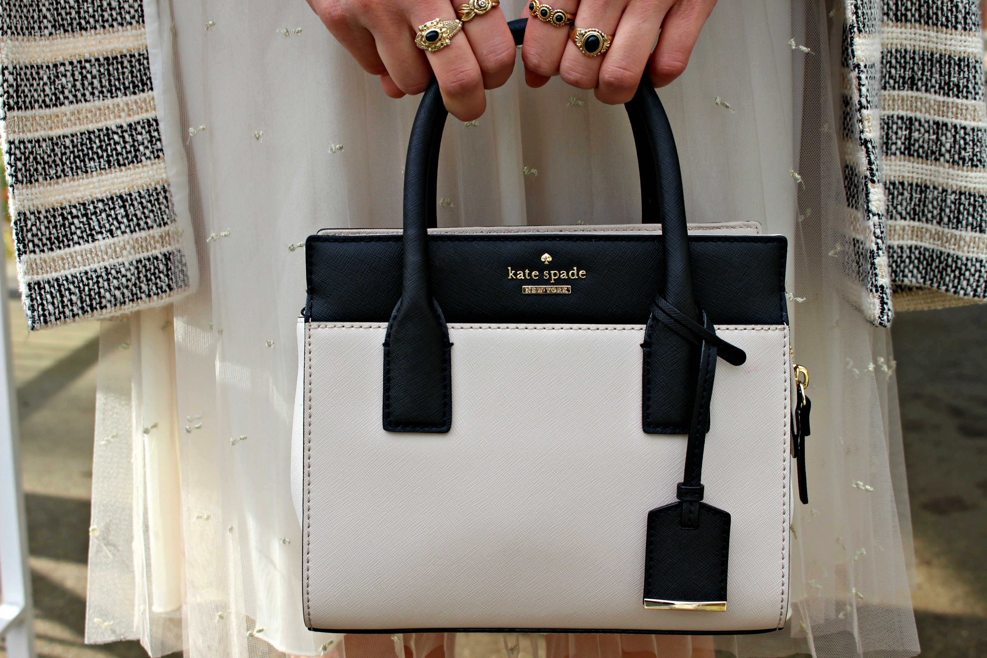 tulle dreams kate spade bag