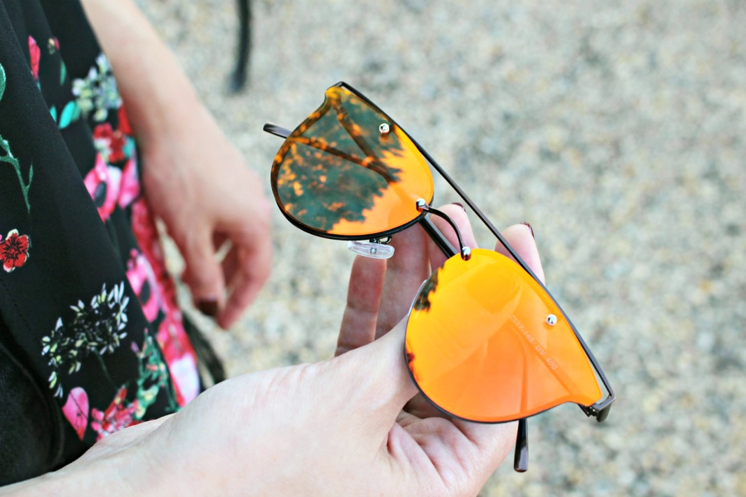 Mirrored Sunglasses Trend